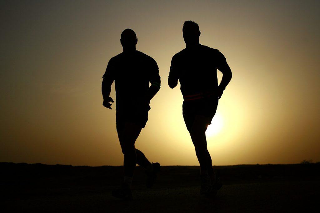 bieganie w parze