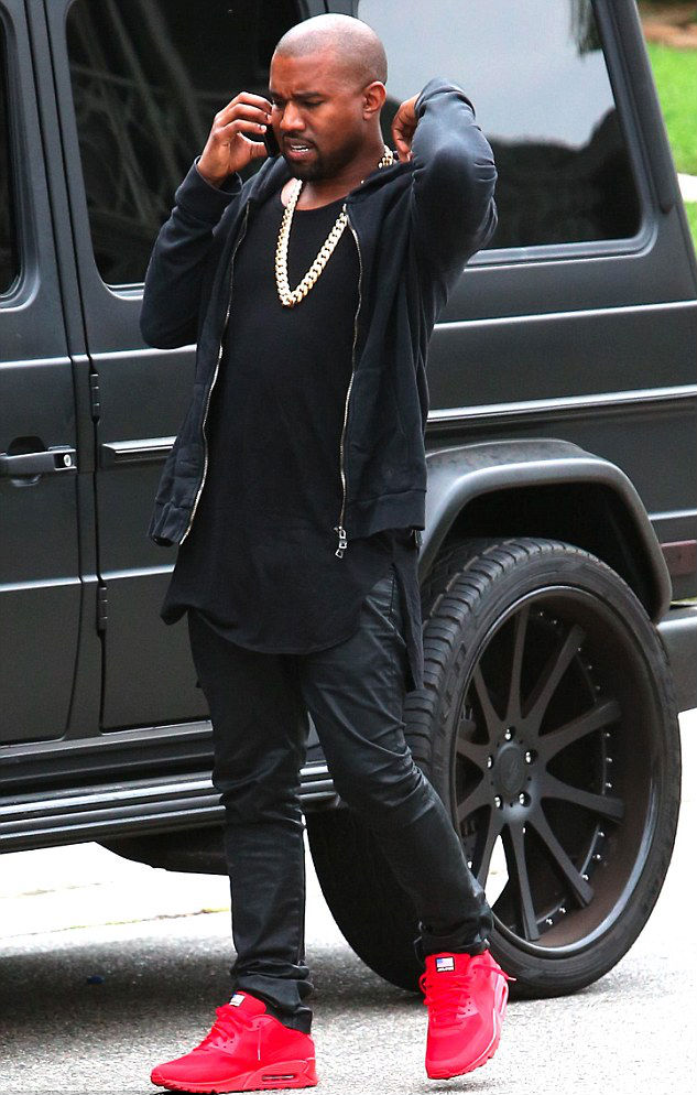 Różowe Air Maxy i Kanye West