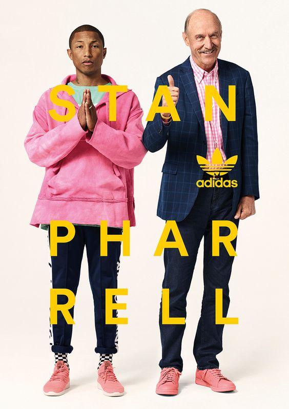 Pharell Williams and adidas